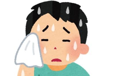 汗は体臭の原因